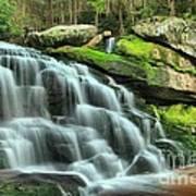 Hidden Elakala Falls Art Print