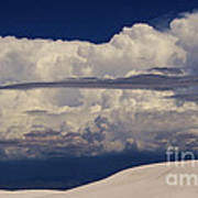 Hidden Mountains In The Shadows Of The Storm Art Print