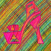 High Heels Power Print by Kenal Louis