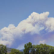 High Park Fire Larimer County Colorado  Art Print by James BO  Insogna