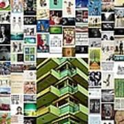 High Rise Apartment Building Art Print