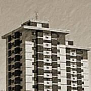 High Rise Apartments Art Print
