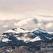 High Sierra Mountains Art Print