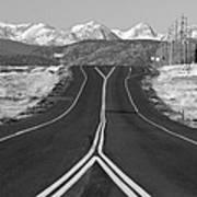 Highway 52   Art Print