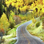 Highway Near Alpine Print by Utah-based Photographer Ryan Houston