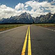 Highways To Tops Of World Art Print