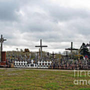 Hill Of Crosses 05. Lithuania Art Print