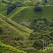 Hills Of Caizan 2 Art Print