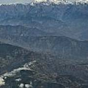 Himalaya Mountains Of Nepal Art Print
