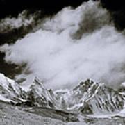 Himalayan Mountain Range Art Print