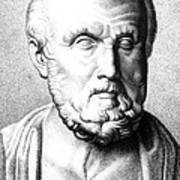 Hippocrates, Greek Physician, Father Art Print