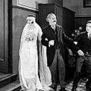 His Marriage Wow, 1925 Art Print