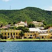 Historic Christiansted Art Print