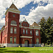 Historic Courthouse Marysvale Utah Art Print