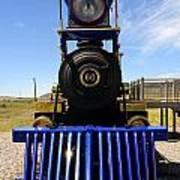 Historic Jupiter Steam Locomotive Art Print