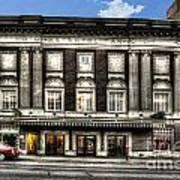 Historic Met Theater In Morgantown Wv Art Print