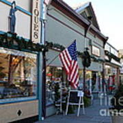 Historic Niles District In California Near Fremont . Main Street . Niles Boulevard . 7d10701 Art Print