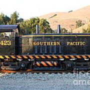 Historic Niles Trains In California . Old Southern Pacific Locomotive . 7d10867 Print by Wingsdomain Art and Photography