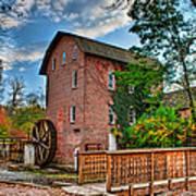 Historic Woods Grist Mill Art Print