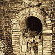 Historical Brick Kiln Oven Opening Decatur Alabama Usa Art Print