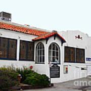 Historical Moss Beach Distillery At Half Moon Bay . 7d8168 Art Print by Wingsdomain Art and Photography