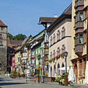 Historical Old Town Rottweil Germany Art Print by Matthias Hauser