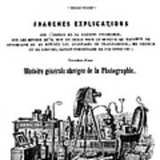 History Of Photography, 1847 Art Print