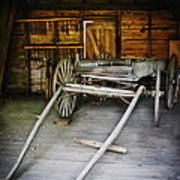 Hitch Your Wagon Art Print by Colleen Kammerer