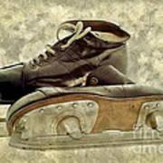 Hockey Boots Art Print by Dariusz Gudowicz