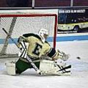 Hockey The Big Reach Art Print