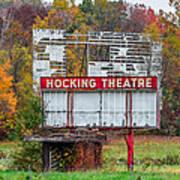 Hocking Theatre Art Print
