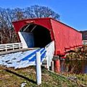 Hogback Covered Bridge Art Print