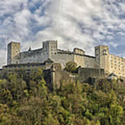 Hohensalzburg Castle Art Print