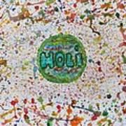 Holi Art Print