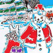 Holiday Dip Art Print