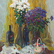 Holiday Still Life Art Print