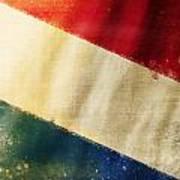 Holland Flag Art Print