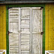 Holliwood Beach Door Art Print