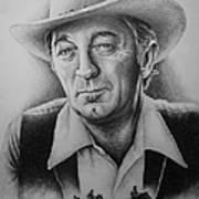 Hollywood Greats -robert Mitchum Art Print