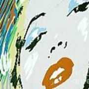 Marilyn In Hollywood 3 Art Print