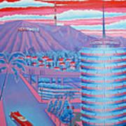 Hollywood Usa Art Print
