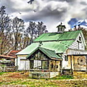 Holmes County Farm Art Print
