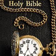 Holy Bible Pocket Watch 1 Art Print