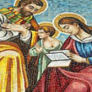 Holy Family At Catholic Church Art Print