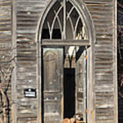 Holy Haven For Cats Art Print