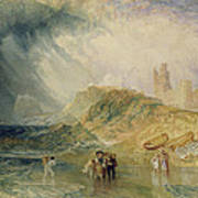 Holy Island - Northumberland Art Print