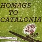 Homage To Catalonia Art Print