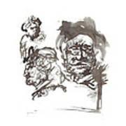 Homage To Rembrandt Art Print