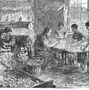 Home Industry, 1871 Art Print