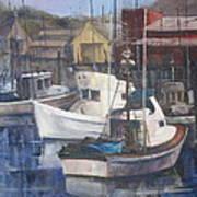 Home Port Art Print